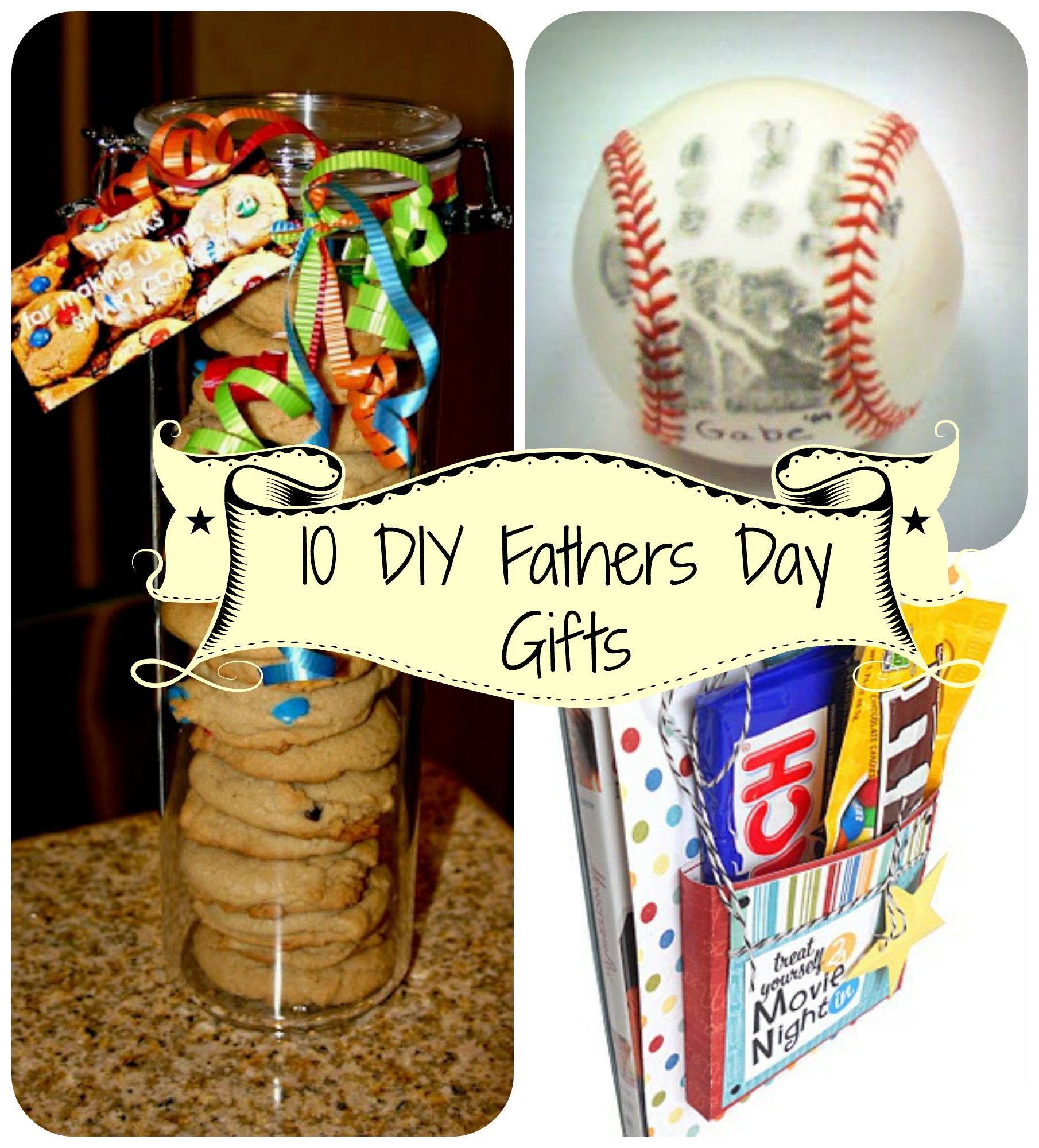 Best ideas about Fathers Day Gift DIY . Save or Pin 10 Easy DIY Fathers Day Gifts Now.