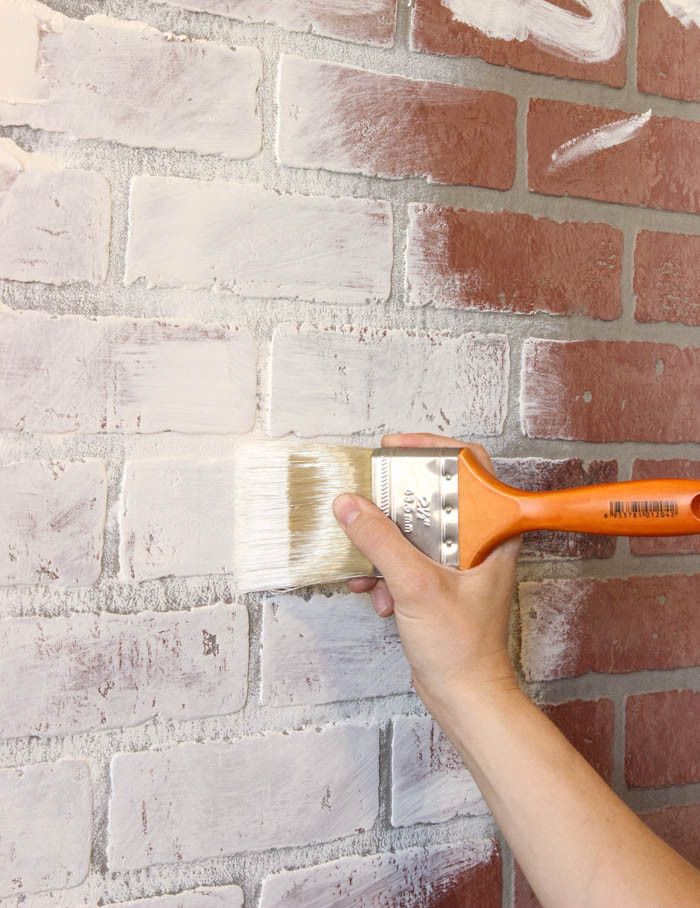Best ideas about Faux Brick Wall DIY . Save or Pin Faux Brick Wall World Map Now.