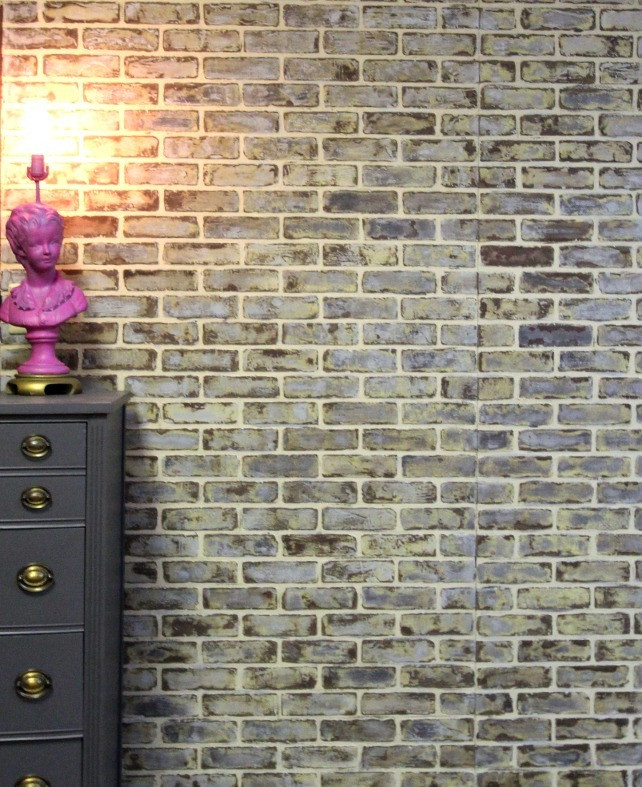 Best ideas about Faux Brick Wall DIY . Save or Pin 10 DIY Faux And Real Exposed Brick Walls Shelterness Now.