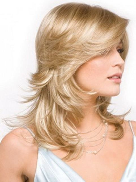 Best ideas about Feather Cut For Medium Hair . Save or Pin Best feather cut hairstyles & step cut haircuts Now.