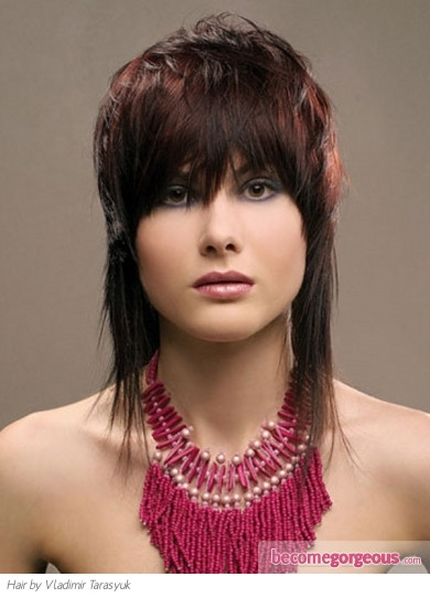 Best ideas about Feather Cut For Medium Hair . Save or Pin Medium Long Hairstyles Medium Feather Cut Now.