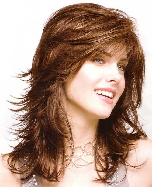Best ideas about Feather Cut For Medium Hair . Save or Pin 25 Best Feathered Hairstyles Long Hairstyles 2015 Now.