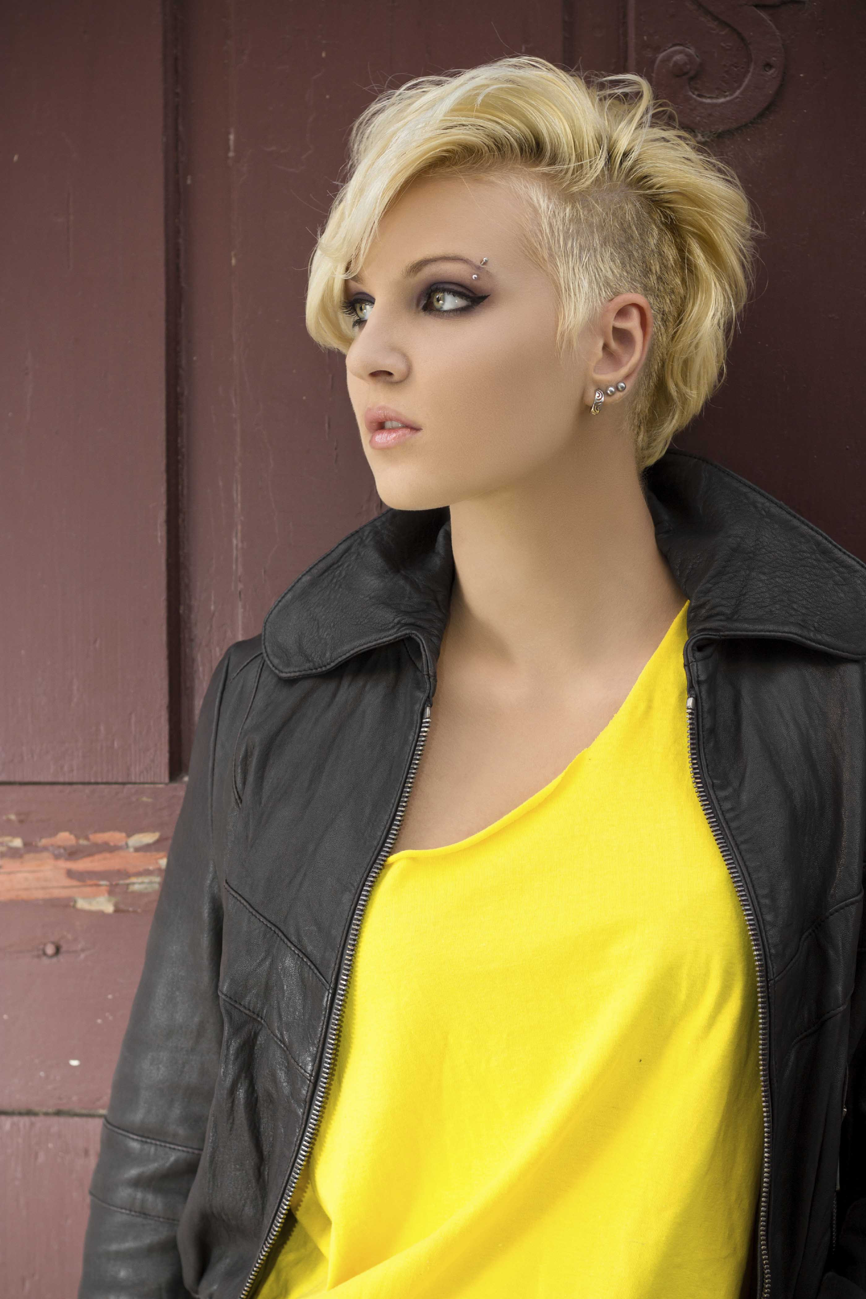 Best ideas about Female Haircuts . Save or Pin 8 Fashionable Mohawk Hairstyles for Women From Haute to Now.