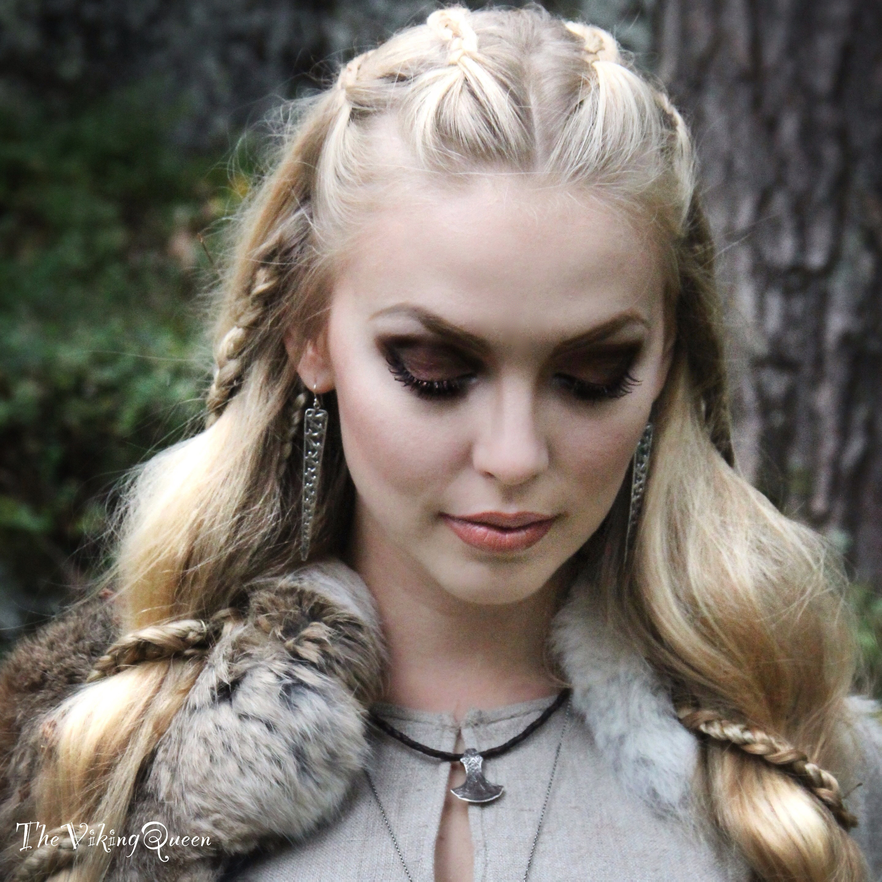 Best ideas about Female Viking Hairstyles . Save or Pin Makeup and Vikings Now.