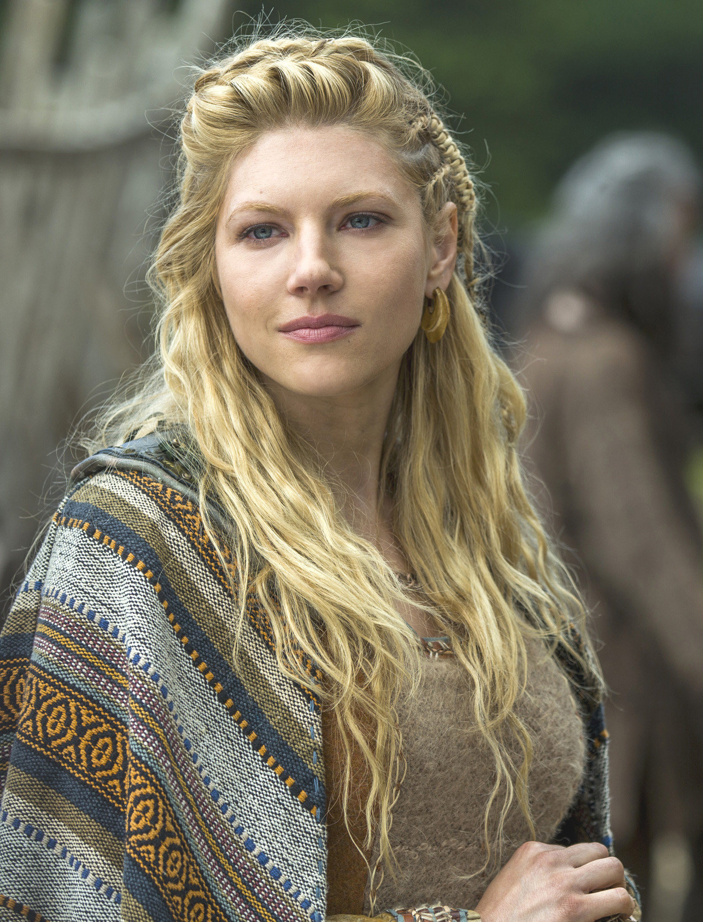 Best ideas about Female Viking Hairstyles . Save or Pin Katheryn Winnick Lagertha's Hairstyle in Vikings – StrayHair Now.