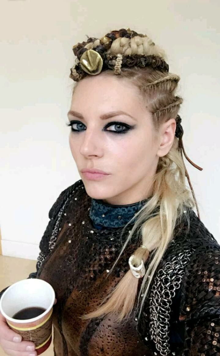 Best ideas about Female Viking Hairstyles . Save or Pin Katheryn Winnick as Lagertha Vikings Now.