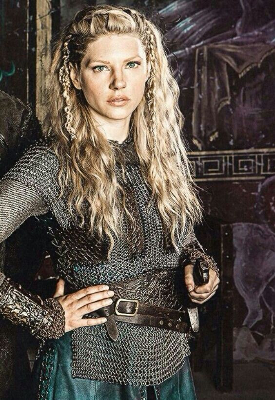 Best ideas about Female Viking Hairstyles . Save or Pin Lagertha Braided Hairstyle Now.