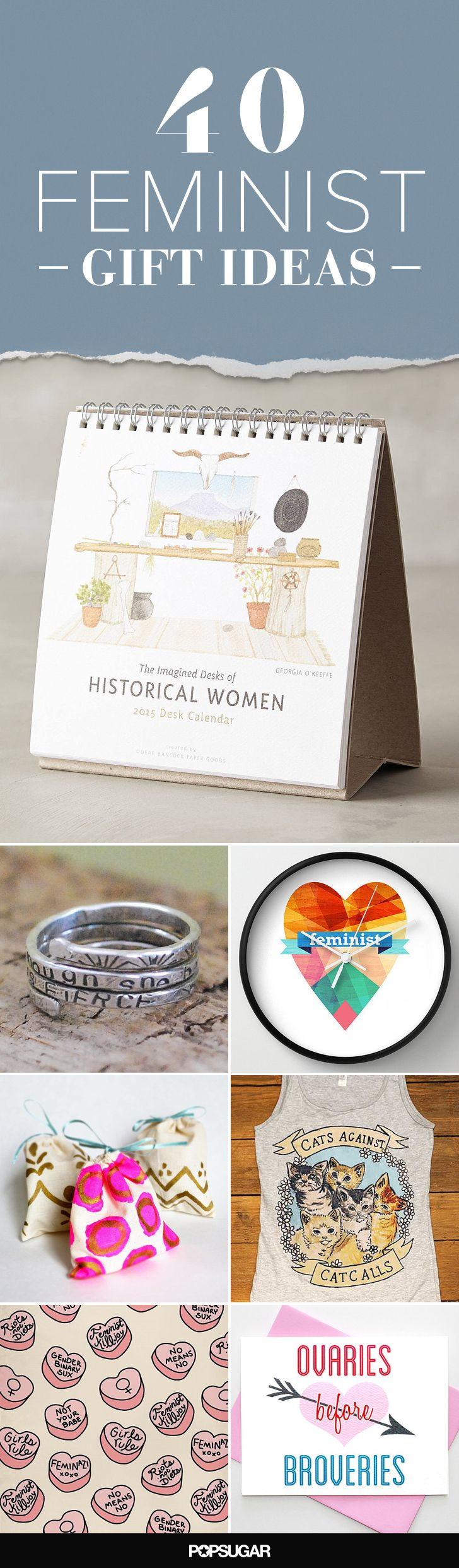 Best ideas about Feminist Gift Ideas . Save or Pin 1000 ideas about Women Birthday Gifts on Pinterest Now.