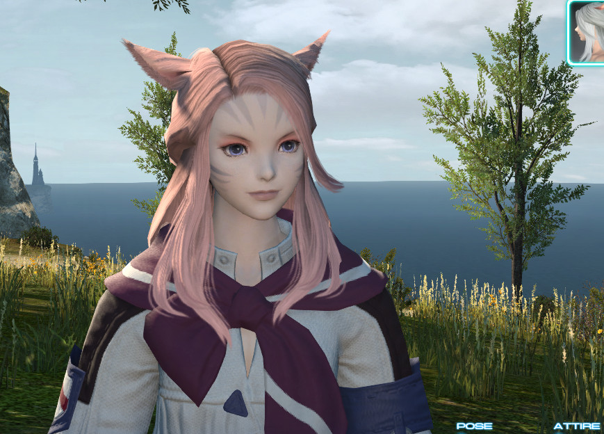 """Best ideas about Ffxiv Female Hairstyles . Save or Pin Sahja T ayuun Blog Entry """"New Patch New Hair Patch 2 3 Now."""