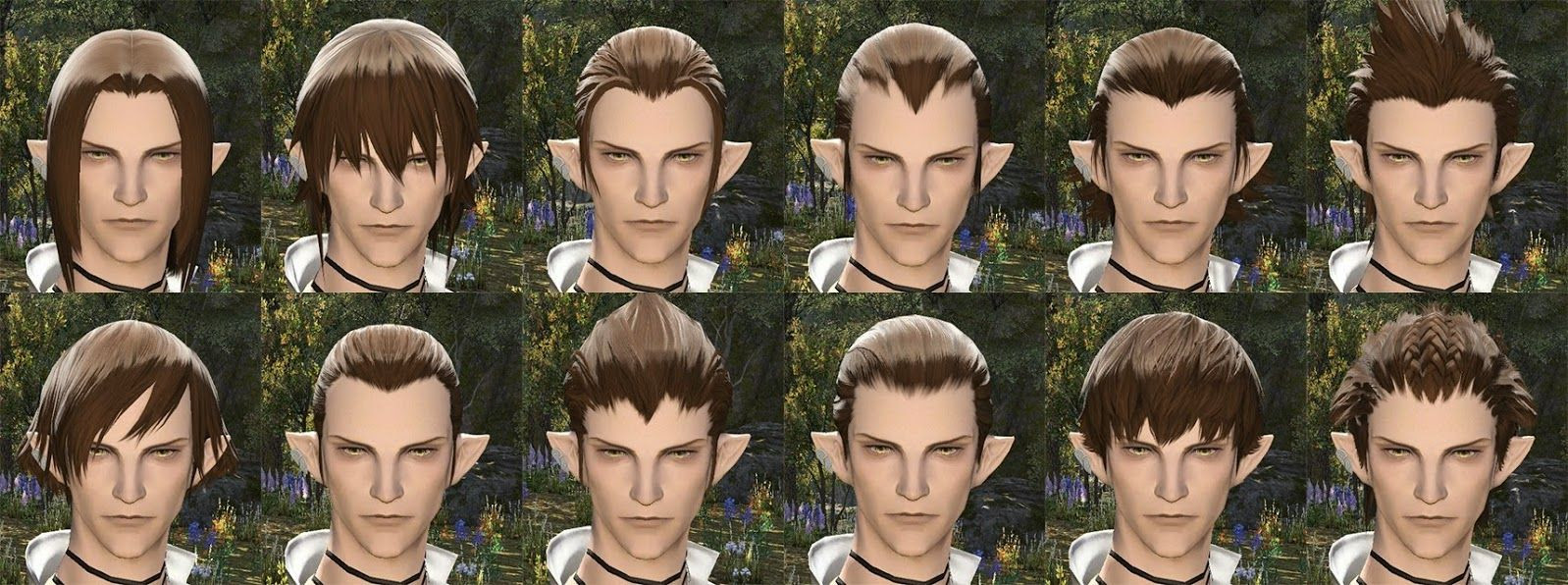 Best ideas about Ffxiv Female Hairstyles . Save or Pin Pin by sigma on Character Haire Now.
