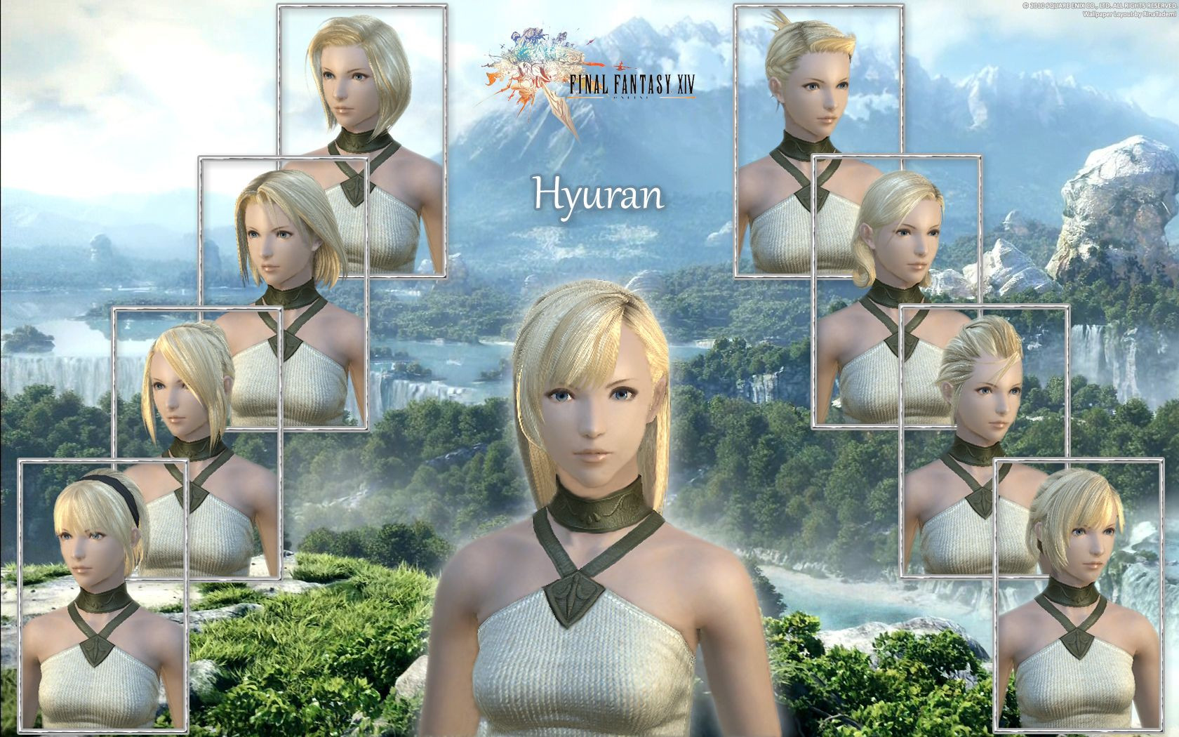 Best ideas about Ffxiv Female Hairstyles . Save or Pin Games FFXIV Hyuran Female Hairstyle Wallpaper desktop Now.