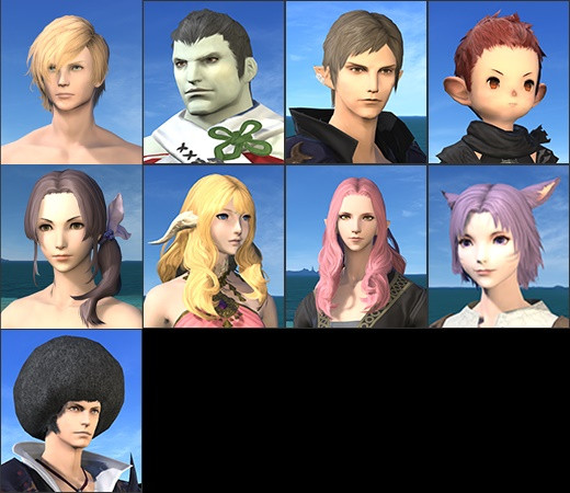 Best ideas about Ffxiv Female Hairstyles . Save or Pin Full relese of 3 1 hair style Now.
