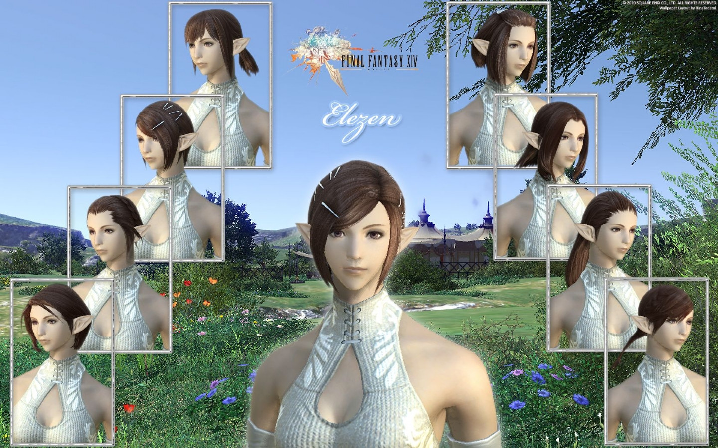 Best ideas about Ffxiv Female Hairstyles . Save or Pin Games FFXIV Elezen Female Hairstyle Wallpaper desktop Now.