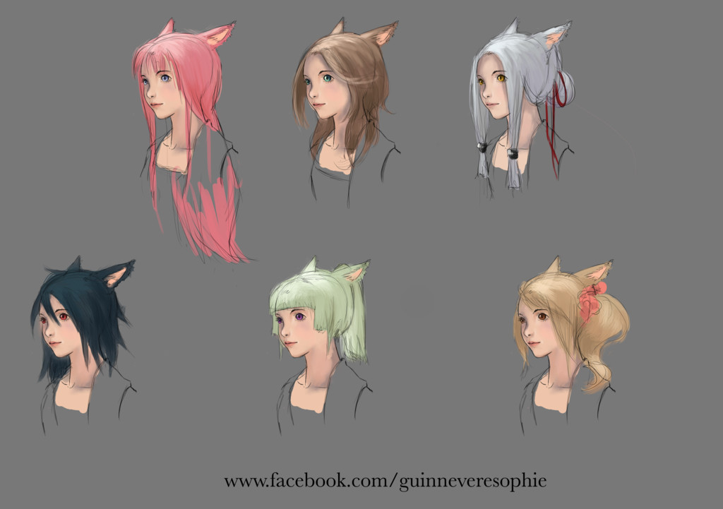Best ideas about Ffxiv Female Hairstyles . Save or Pin Announcing the Hairstyle Design Contest ffxiv Now.