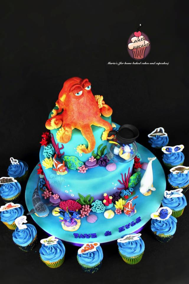Best ideas about Finding Dory Birthday Cake . Save or Pin Finding Dory Cake cake by Maria s CakesDecor Now.