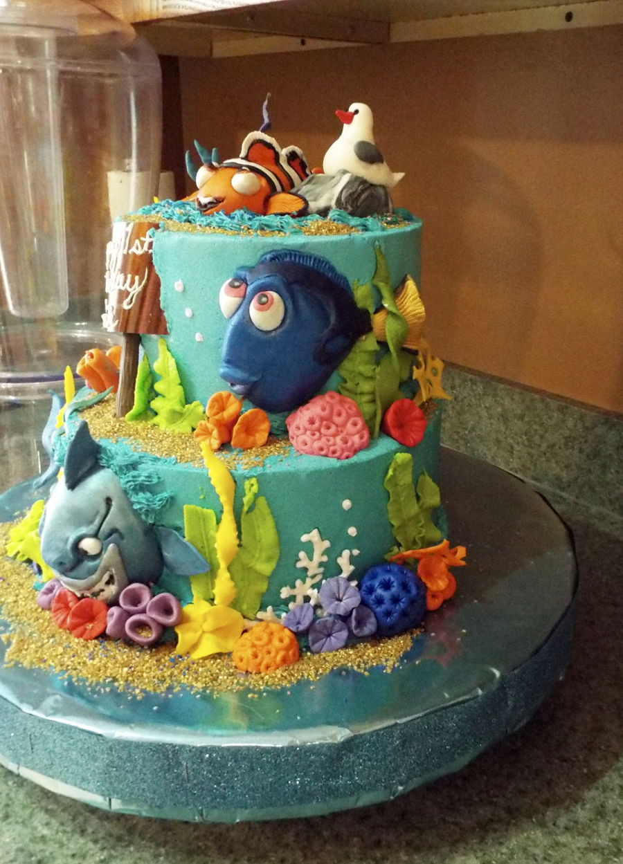 Best ideas about Finding Dory Birthday Cake . Save or Pin Finding Dory Cake CakeCentral Now.
