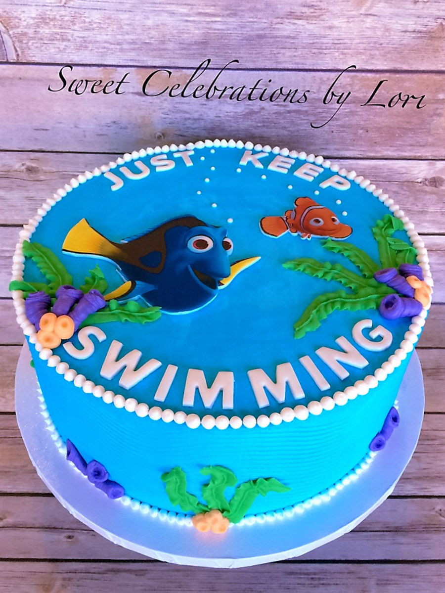 Best ideas about Finding Dory Birthday Cake . Save or Pin Finding Dory Birthday Cake CakeCentral Now.
