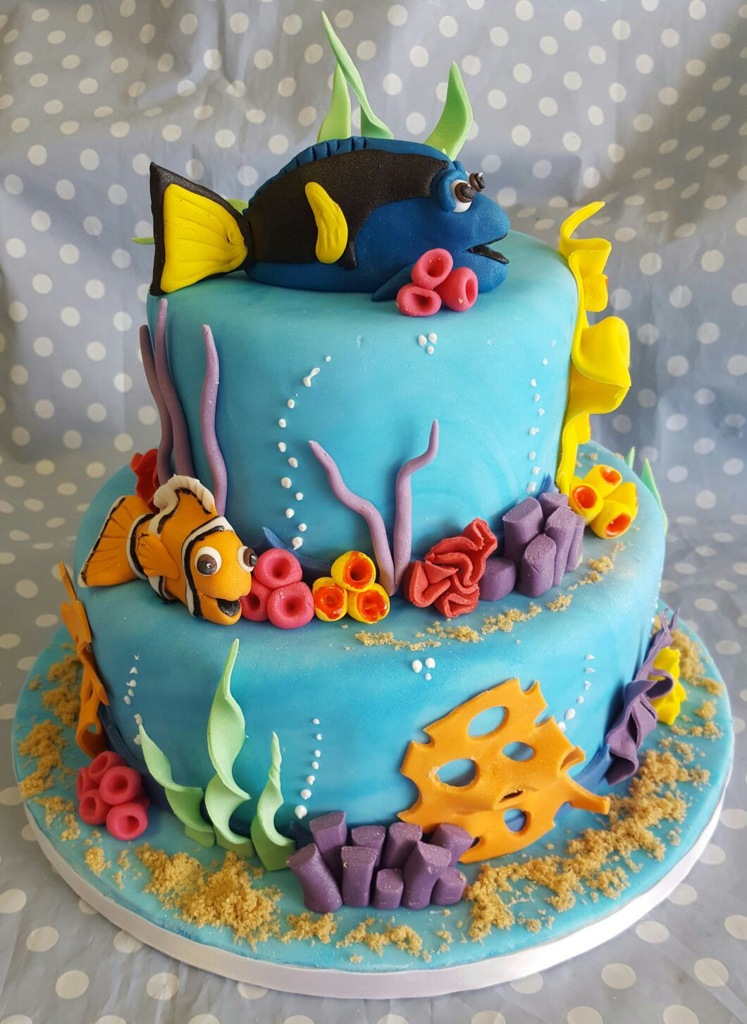 Best ideas about Finding Dory Birthday Cake . Save or Pin happy birthday Naihu Now.