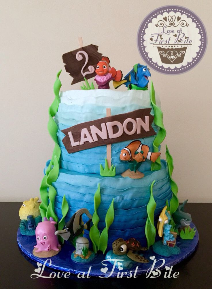 Best ideas about Finding Dory Birthday Cake . Save or Pin Finding Nemo Cake Finding Dory Cake Now.