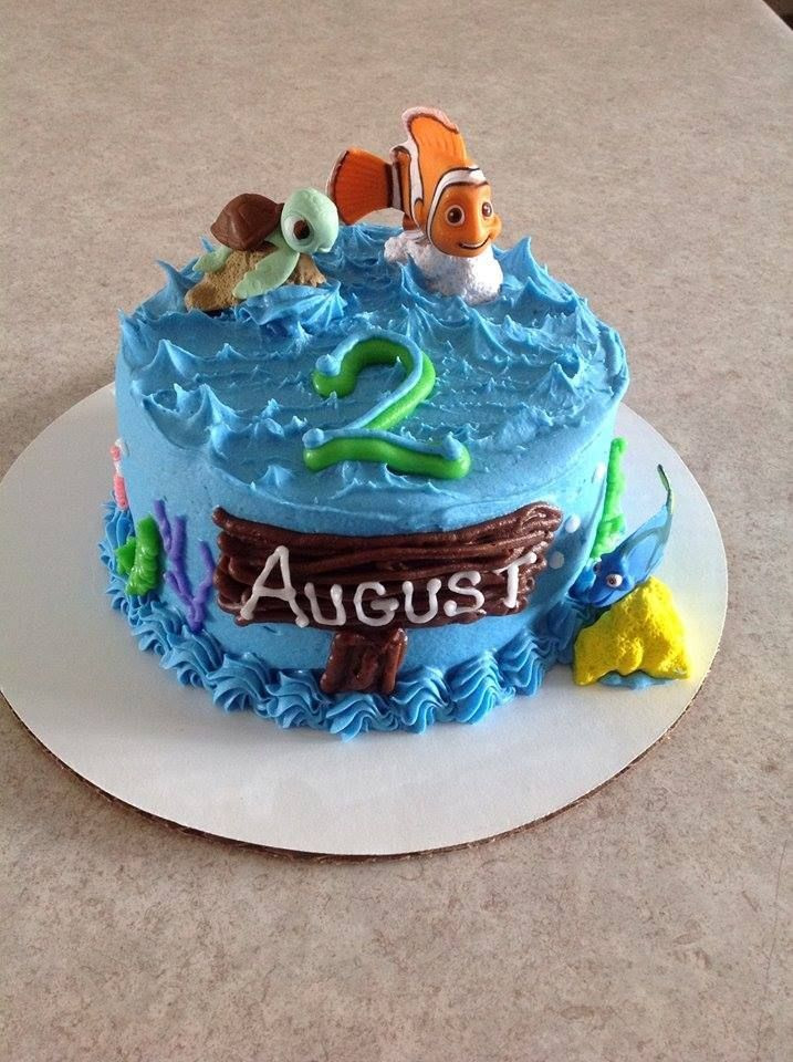 Best ideas about Finding Dory Birthday Cake . Save or Pin Birthdays Finding nemo and Birthday month on Pinterest Now.