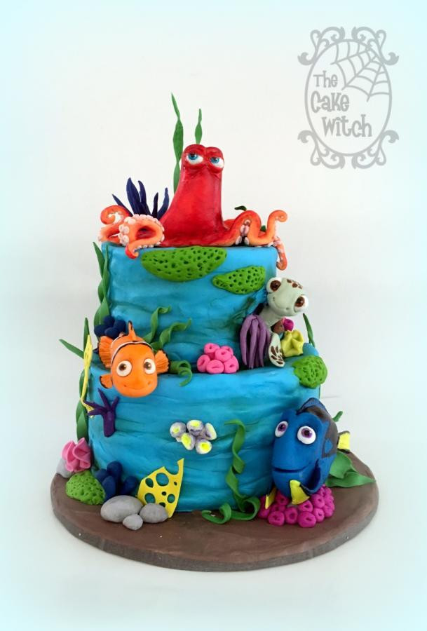 Best ideas about Finding Dory Birthday Cake . Save or Pin Finding Dory cake by Nessie The Cake Witch CakesDecor Now.