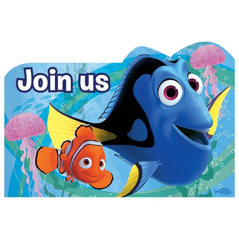 Best ideas about Finding Dory Birthday Invitations . Save or Pin Finding Dory Invitations Now.