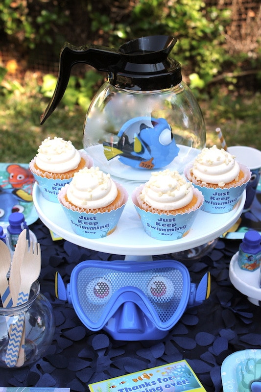 Best ideas about Finding Dory Birthday Party Ideas . Save or Pin 40 Finding Dory Birthday Party Ideas Pretty My Party Now.