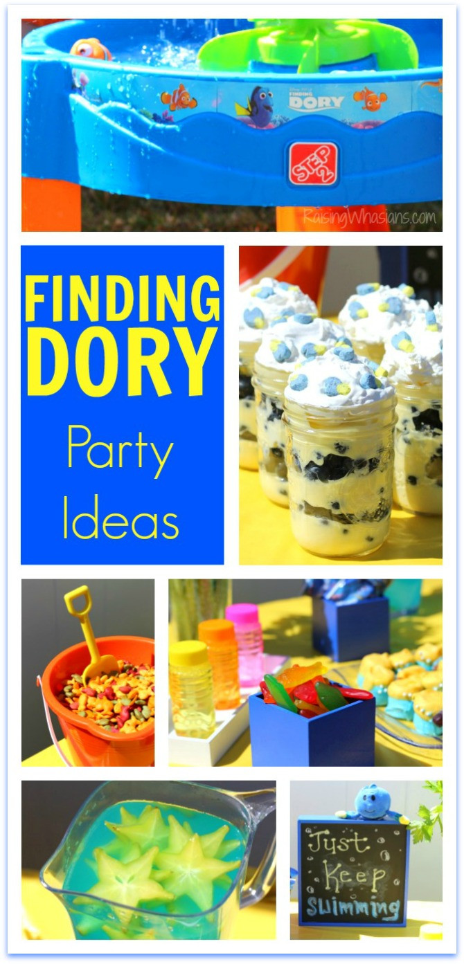 Best ideas about Finding Dory Birthday Party Ideas . Save or Pin Finding Dory Party Ideas Raising Whasians Now.