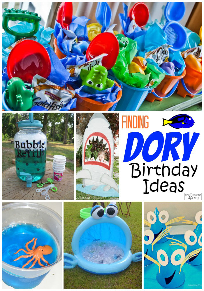 Best ideas about Finding Dory Birthday Party Ideas . Save or Pin Finding Nemo & Finding Dory Inspired Birthday Ideas The Now.