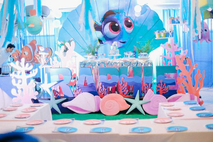 Best ideas about Finding Dory Birthday Party Ideas . Save or Pin Kara s Party Ideas Finding Dory Under the Sea Birthday Now.
