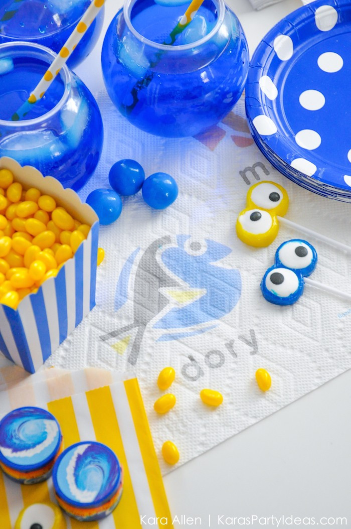 Best ideas about Finding Dory Birthday Party Ideas . Save or Pin Kara s Party Ideas Finding Dory Birthday Party Ideas DIY Now.