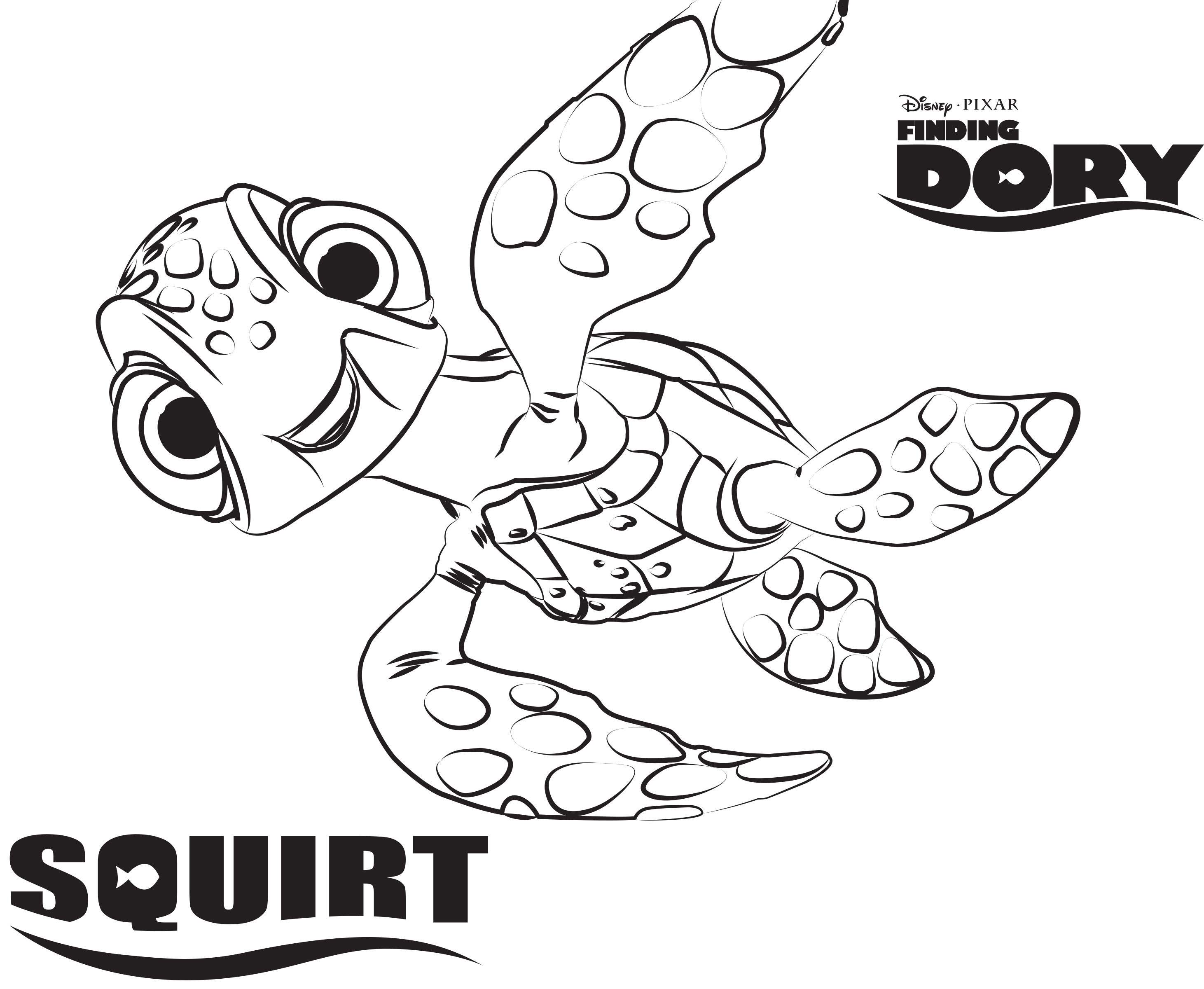 Best ideas about Finding Dory Printable Coloring Pages . Save or Pin Finding Dory Coloring Pages Coloring Home Now.