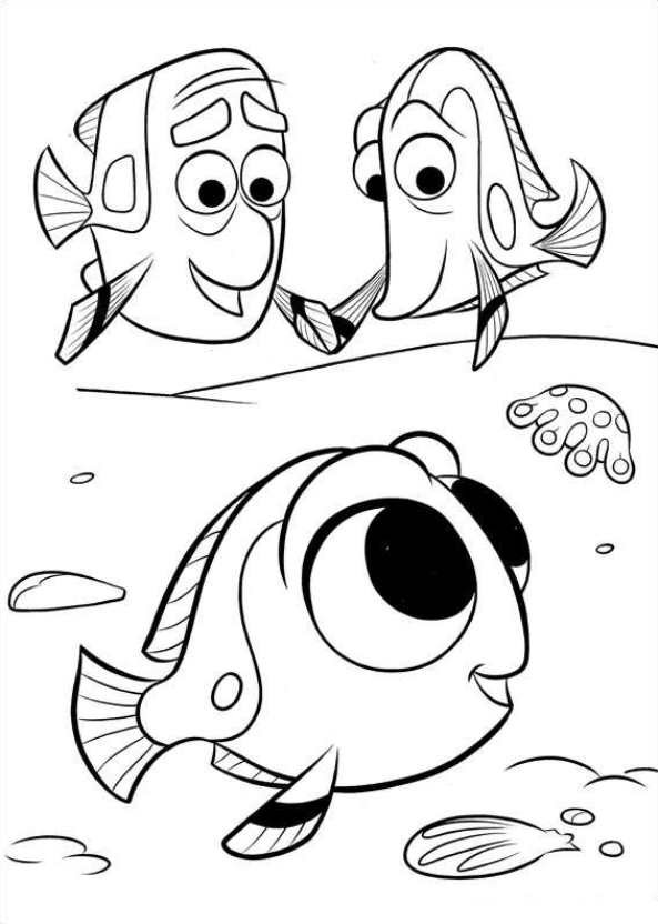Best ideas about Finding Dory Printable Coloring Pages . Save or Pin Kids n fun Now.