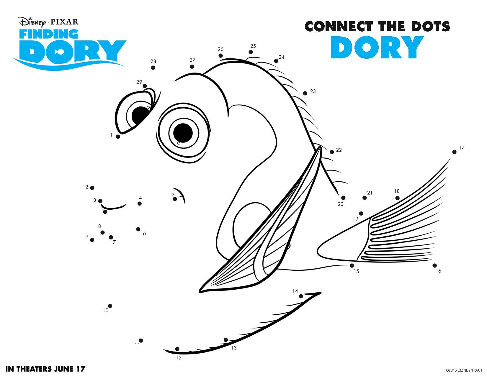 Best ideas about Finding Dory Printable Coloring Pages . Save or Pin Disney s Finding Dory Fun Coloring Pages and More Sand Now.