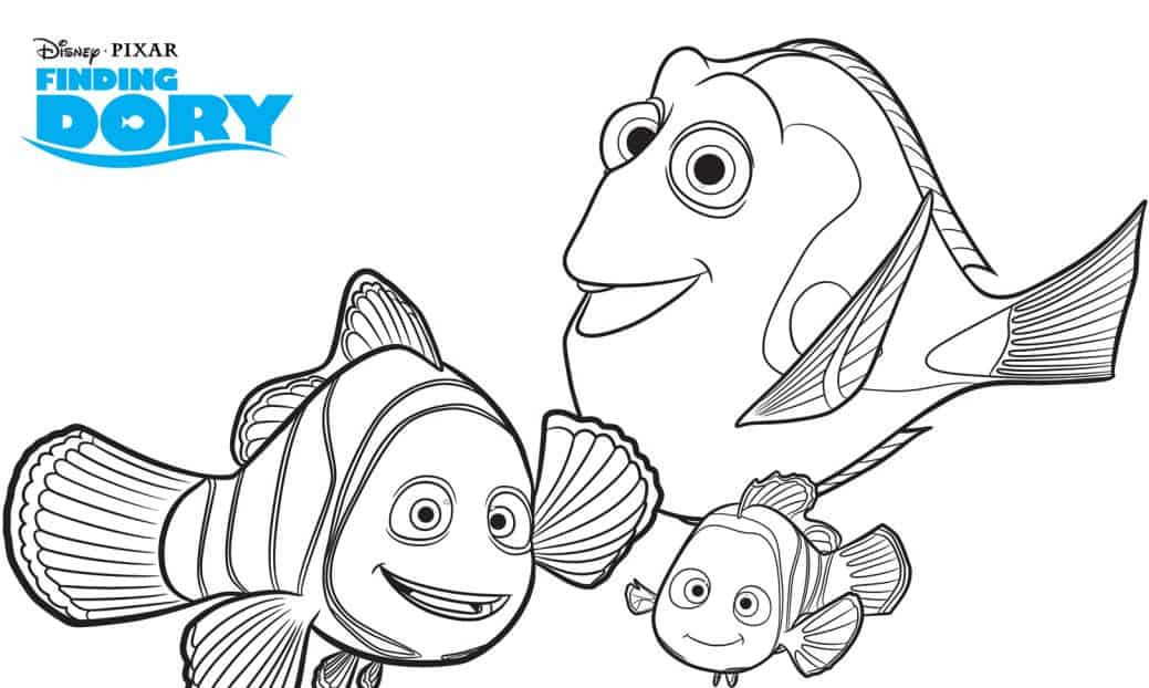 Best ideas about Finding Dory Printable Coloring Pages . Save or Pin FREE Finding Dory Printable Coloring Pages Now.