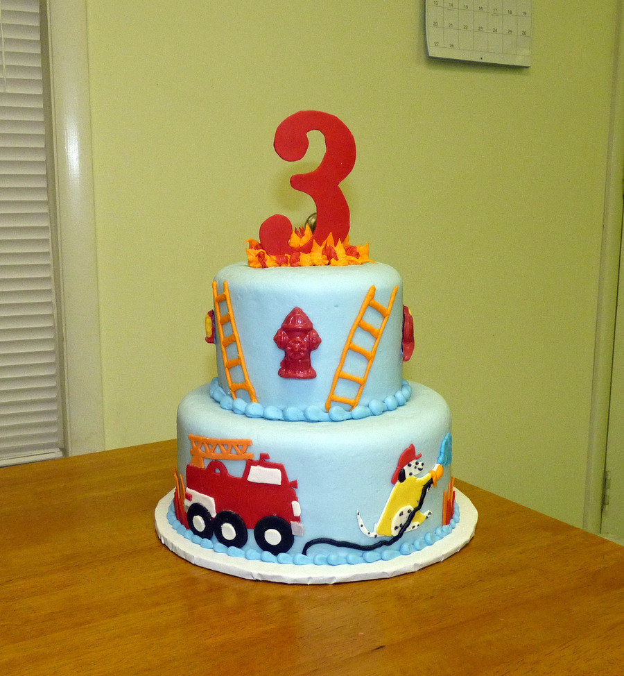Best ideas about Fire Truck Birthday Cake . Save or Pin Firetruck Birthday Cake CakeCentral Now.