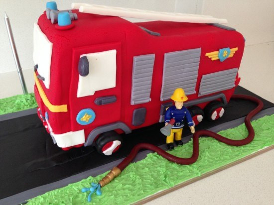 Best ideas about Fire Truck Birthday Cake . Save or Pin HowToCookThat Cakes Dessert & Chocolate Now.