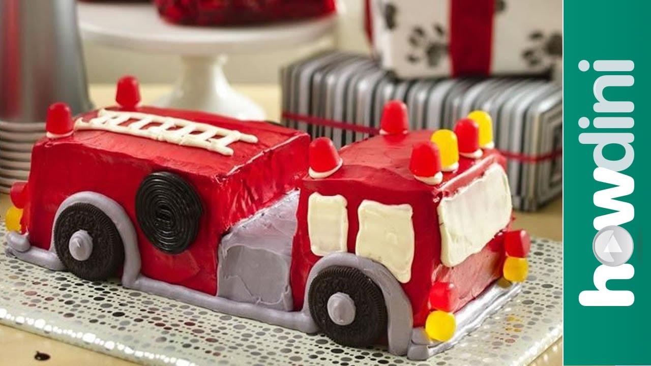 Best ideas about Fire Truck Birthday Cake . Save or Pin Birthday Cake Ideas How to Make a Fire Truck Birthday Now.