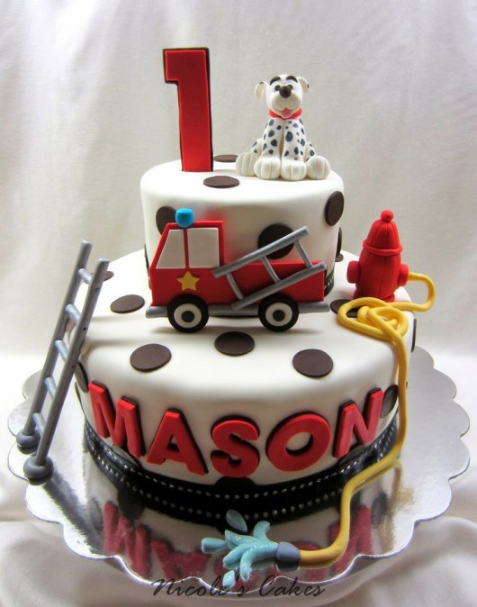 Best ideas about Fire Truck Birthday Cake . Save or Pin Fire Trucks and Fire Fighter Birthday Party Ideas Now.