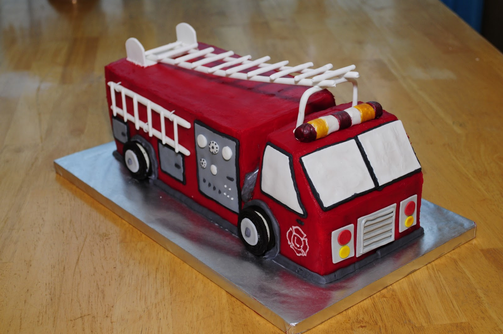 Best ideas about Fire Truck Birthday Cake . Save or Pin Lindsay s Custom Cakes Fire Truck Birthday Cake Now.