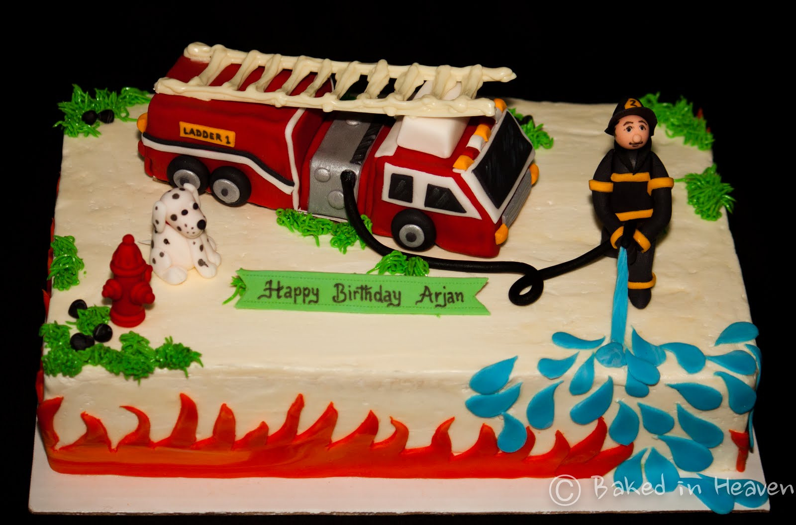 Best ideas about Fire Truck Birthday Cake . Save or Pin Fire truck cake Now.