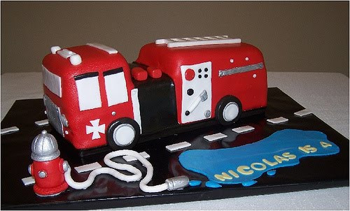 Best ideas about Fire Truck Birthday Cake . Save or Pin Free Cake Info Fire Truck Birthday Cakes Now.