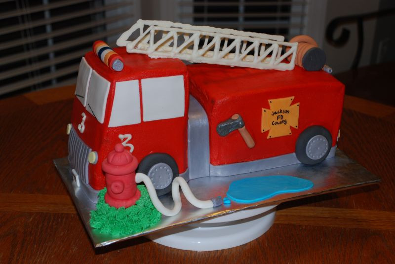 Best ideas about Fire Truck Birthday Cake . Save or Pin Birthday Cake June 2010 Now.