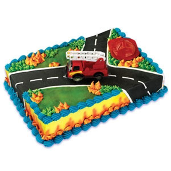 Best ideas about Fire Truck Birthday Cake . Save or Pin Fire Truck & Rescue Cake Decoration Set Fireman Now.