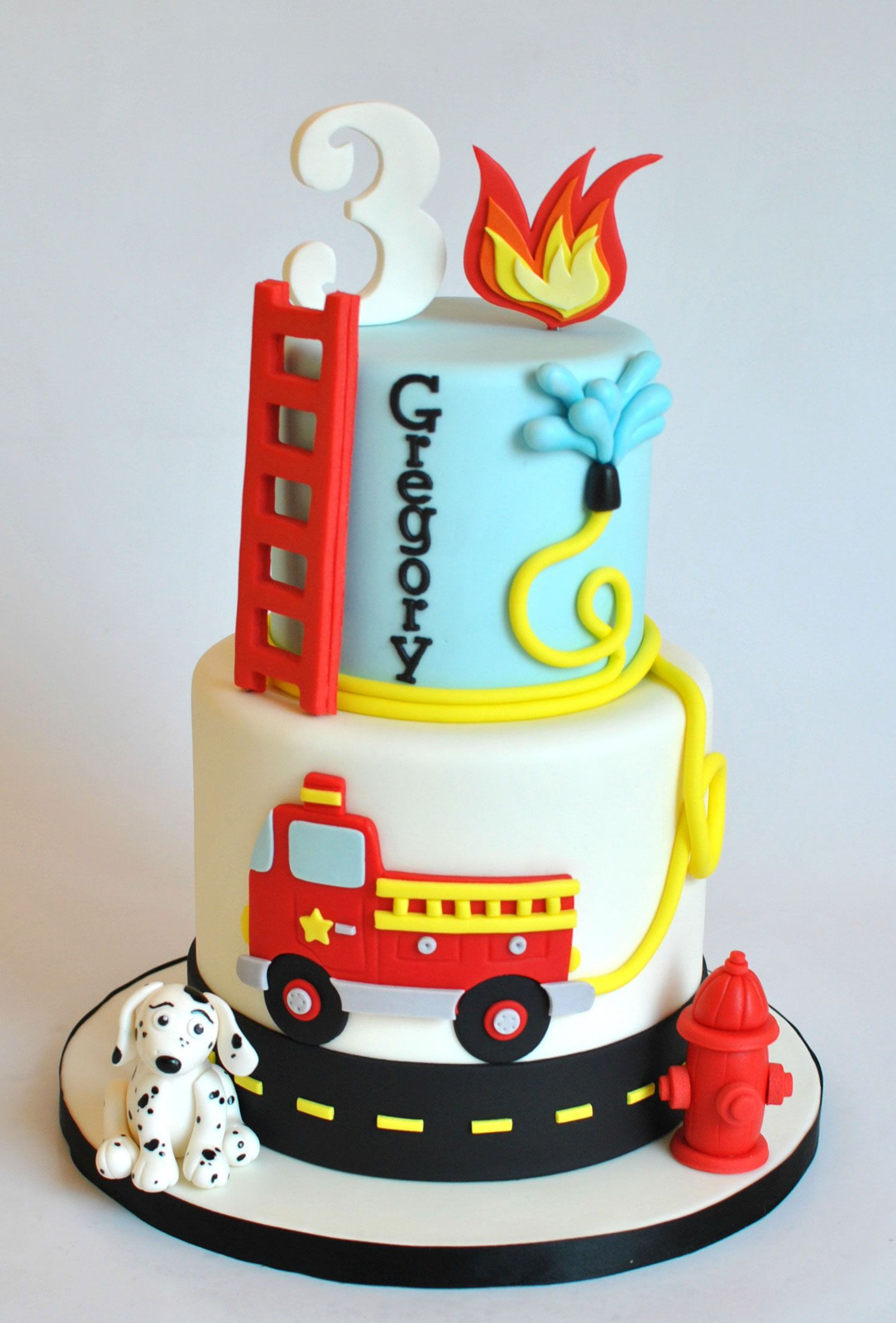 Best ideas about Fire Truck Birthday Cake . Save or Pin Firetruck Cake Hope s Sweet Cakes Now.
