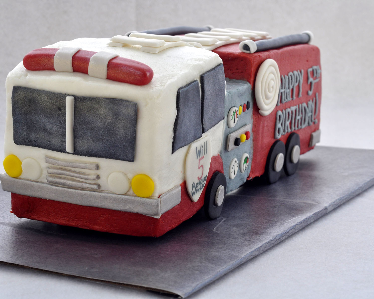 Best ideas about Fire Truck Birthday Cake . Save or Pin Beki Cook s Cake Blog How to Make a Firetruck Cake Now.