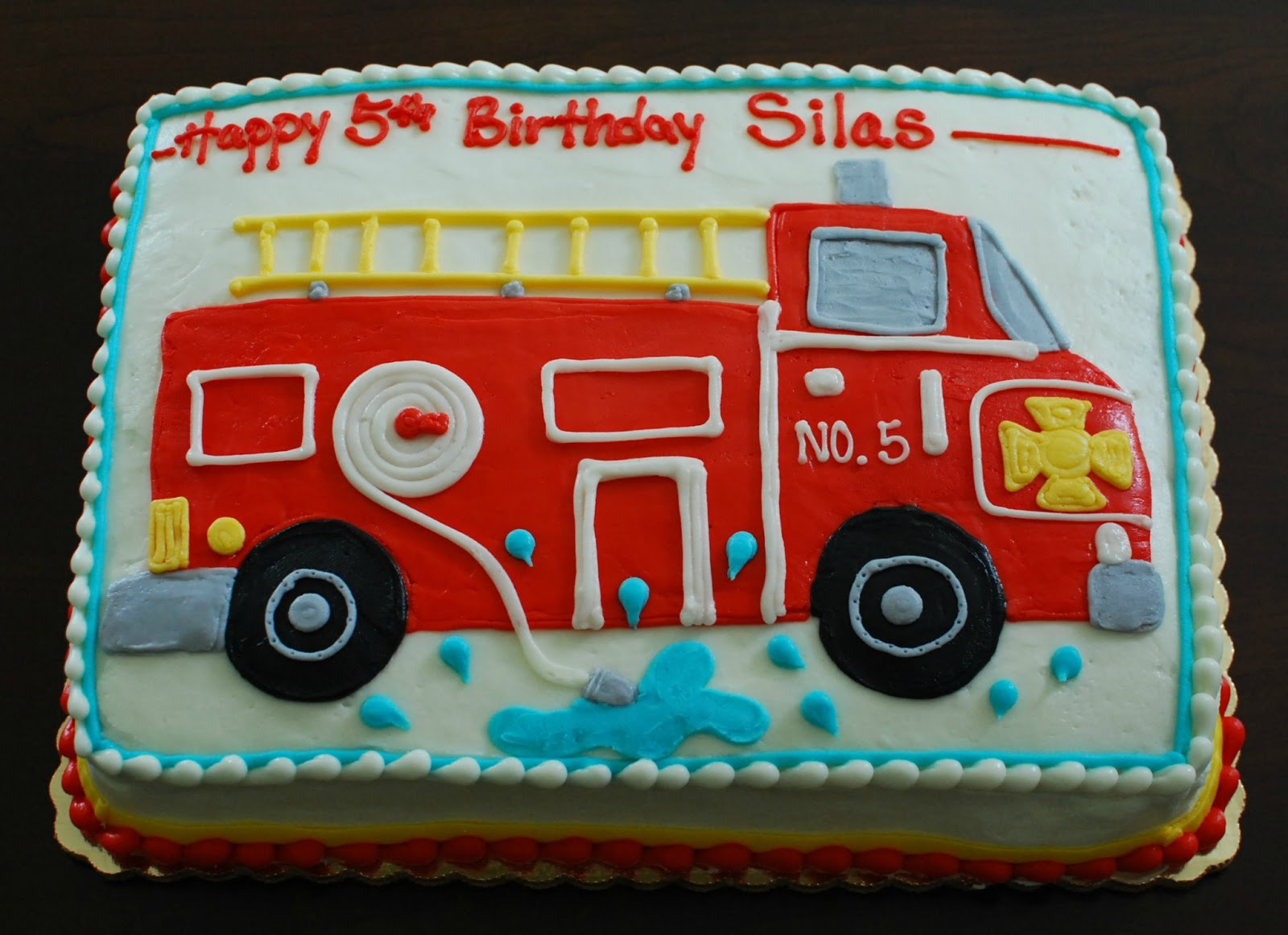 Best ideas about Fire Truck Birthday Cake . Save or Pin Snacky French Fire Truck Cake Now.
