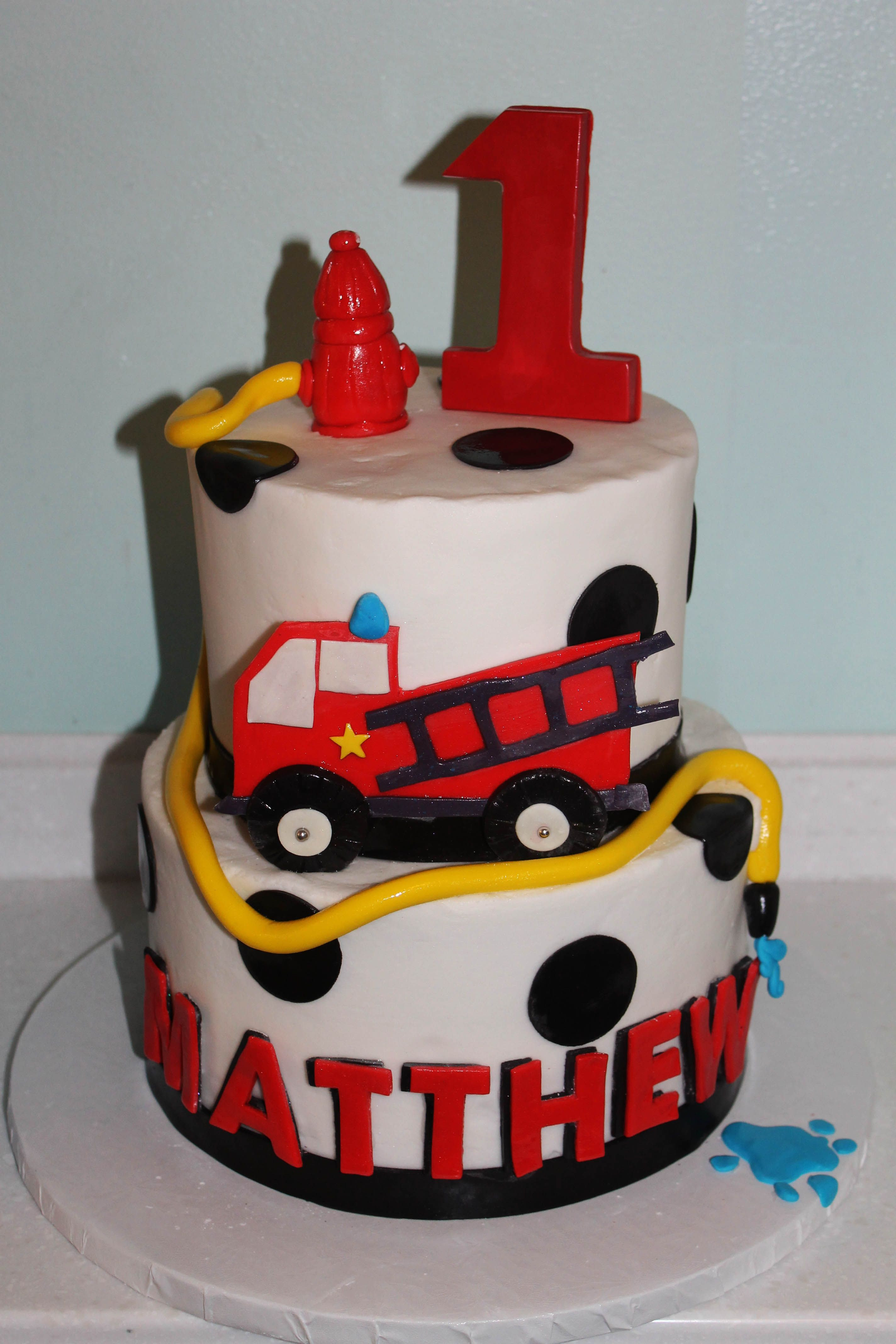 Best ideas about Fire Truck Birthday Cake . Save or Pin Fire Truck Cake First Birthday Fire Truck Cake Now.