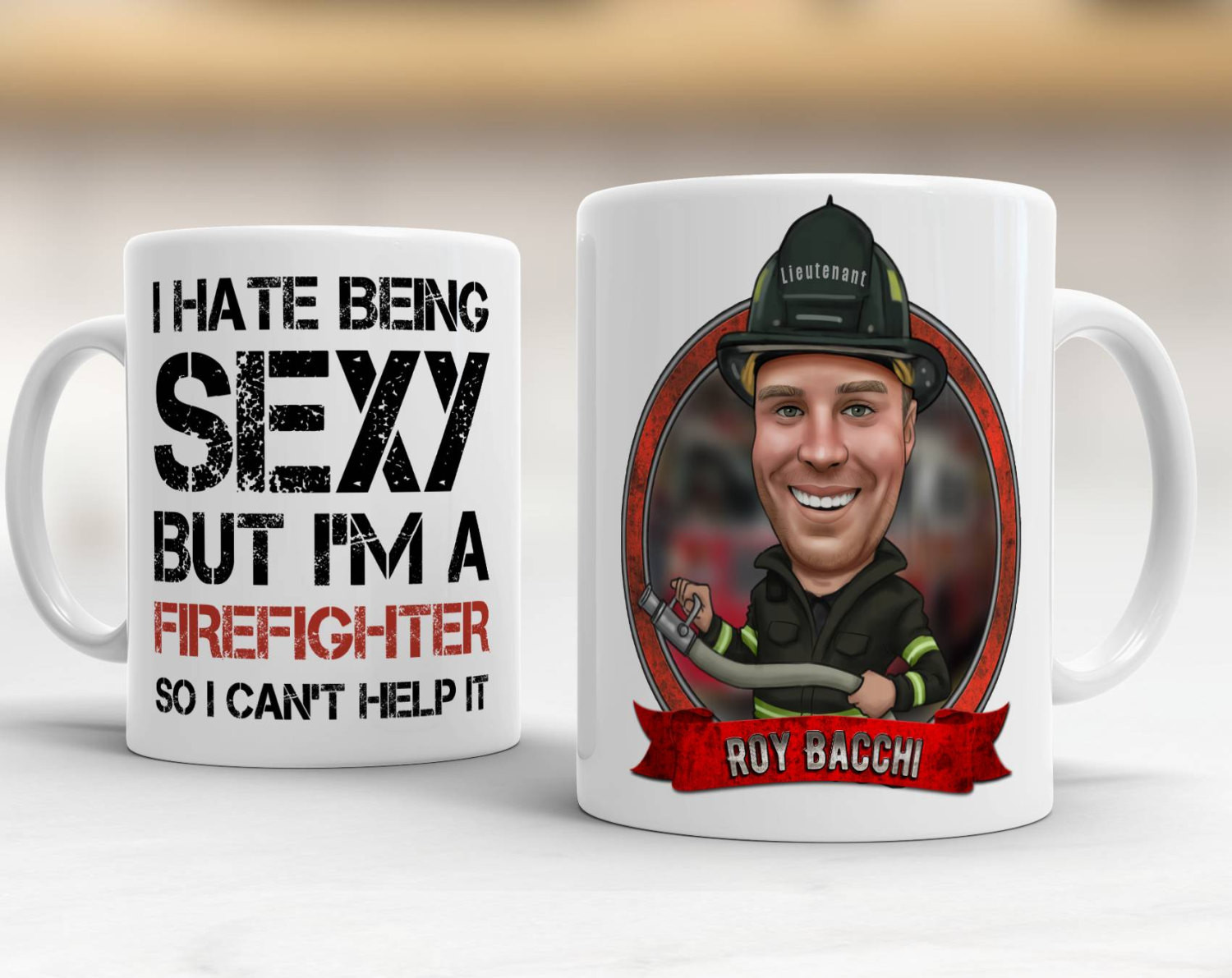 Best ideas about Fireman Gift Ideas . Save or Pin Custom Firefighter Gift Ideas Gift For Firefighter Now.