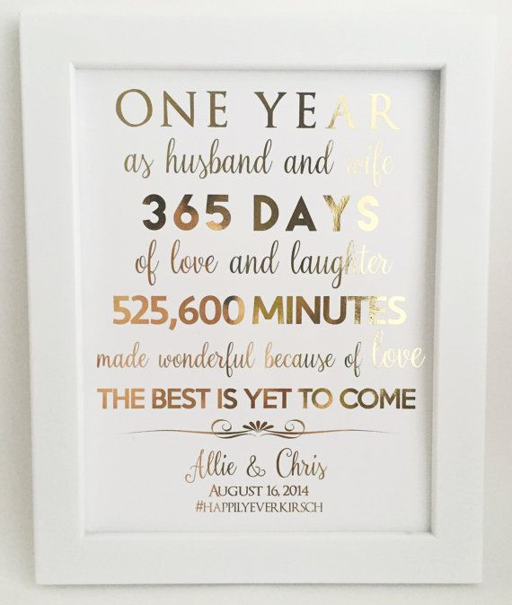 Best ideas about First Anniversary Gift Ideas For Wife . Save or Pin First 1st Anniversary Gift Anniversary Gift For Now.
